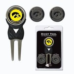 Team Golf University of Iowa Divot Tool and Ball Marker Set - view number 1