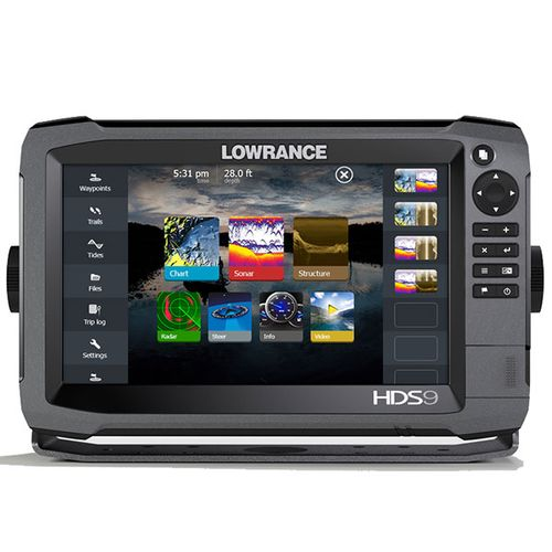 Lowrance HDS-9 Gen3 Touch Screen Sonar/GPS Fishfinder