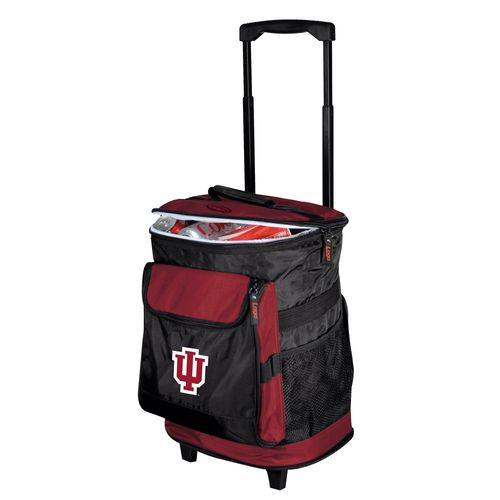 Logo™ Indiana University 48-Can Rolling Cooler - view number 1