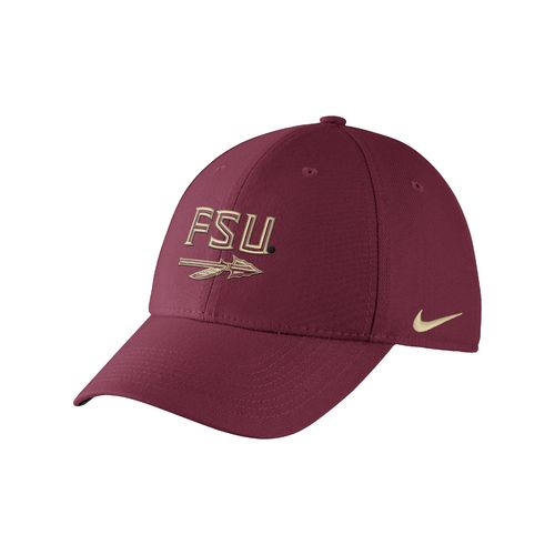 Nike Adults' Florida State University Swoosh Flex Cap