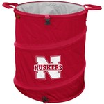 Logo University of Nebraska Collapsible 3-in-1 Cooler/Hamper/Wastebasket