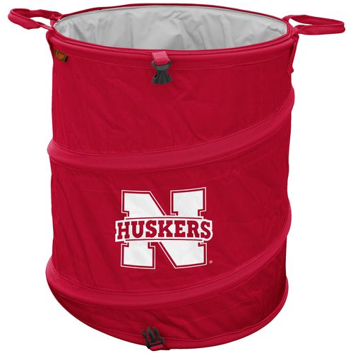 Logo™ University of Nebraska Collapsible 3-in-1 Cooler/Hamper/Wastebasket