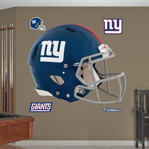 Fathead New York Giants Real Big Helmet Decal - view number 1