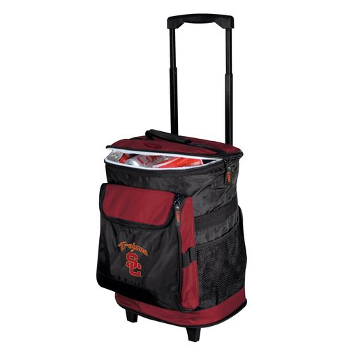 Logo™ University of Southern California 48-Can Rolling Cooler