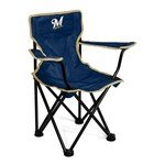 Logo™ Milwaukee Brewers Toddlers' Tailgating Chair - view number 1