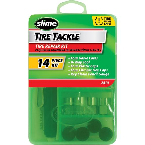 Slime 14-Piece Small Tire Tackle Tire Repair Kit