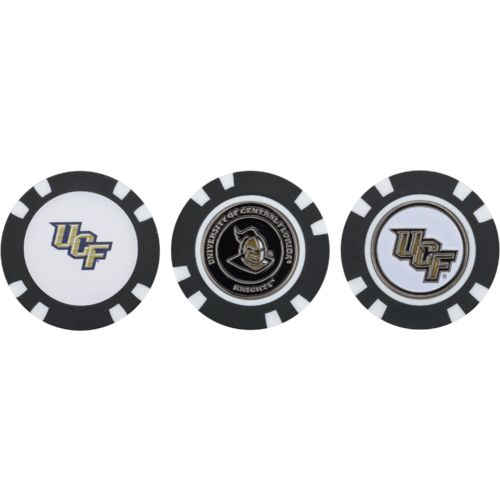 Team Golf University of Central Florida Poker Chip and Golf Ball Marker Set