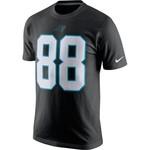 Nike Men's Carolina Panthers Greg Olsen #88 T-shirt - view number 2