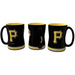Boelter Brands Pittsburgh Pirates 14 oz. Relief Coffee Mugs 2-Pack - view number 1