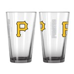 Boelter Brands Pittsburgh Pirates Elite 16 oz. Pint Glasses 2-Pack - view number 1