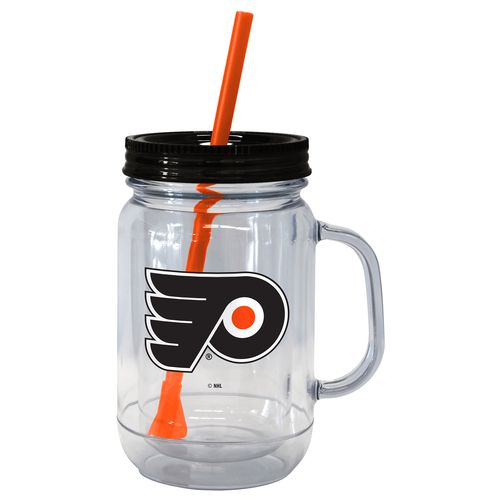 Boelter Brands Philadelphia Flyers 20 oz. Handled Straw Tumblers 2-Pack