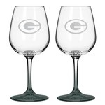 Boelter Brands Green Bay Packers 12 oz. Wine Glasses 2-Pack - view number 1