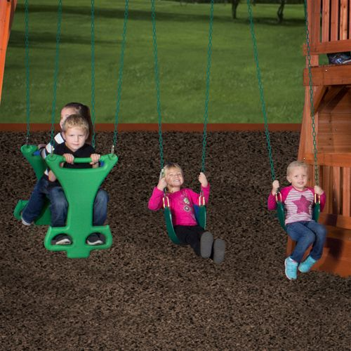Backyard Discovery™ Liberty II Wooden Swing Set - view number 4