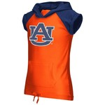 Colosseum Athletics Girls' Auburn University Jewel Short Sleeve Hoodie