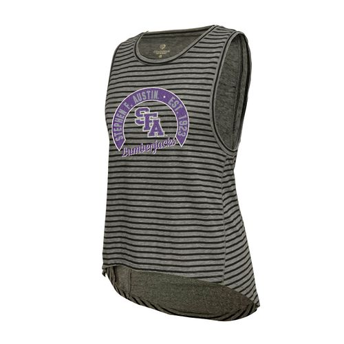 Colosseum Athletics Women's Stephen F. Austin State University Stay In Your Lane Tank Top