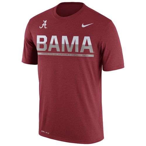 Nike™ Men's University of Alabama Legend Staff T-shirt