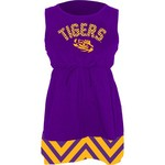 Klutch Apparel Toddlers' Louisiana State University Chevron Dress