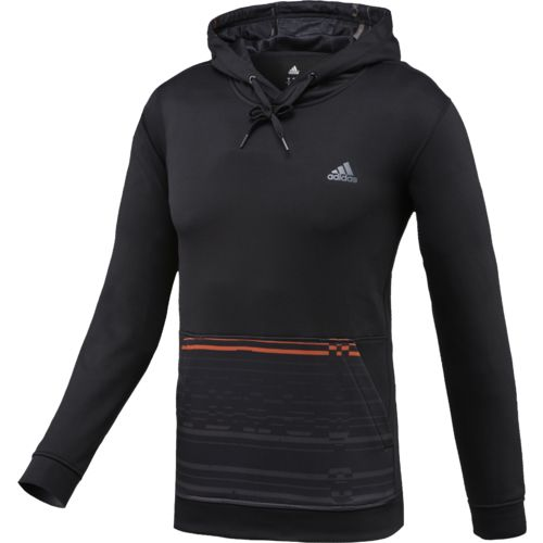 adidas Men's Team Issue Sport Glitch Fleece Pullover Hoodie