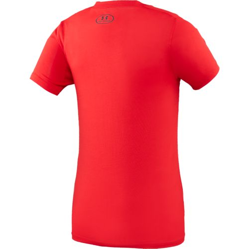 Under Armour Boys' Football Big Logo Mashup T-shirt - view number 2
