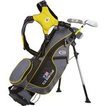 U.S. Kids Golf Juniors' Ultralight 4-Club Stand Bag Set
