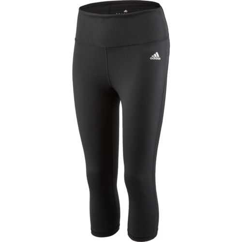 adidas Women's Performer High Rise 3/4 Macro Heather Print Tight