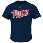 Majestic Men's Minnesota Twins Byron Buxton #25 T-shirt - view number 2