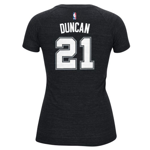 adidas™ Women's San Antonio Spurs Tim Duncan #21 T-shirt