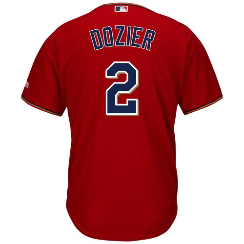 Majestic Men's Minnesota Twins Brian Dozier #2 Cool Base® Home Jersey - view number 1