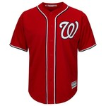 Majestic Men's Washington Nationals Daniel Murphy #20 Cool Base Replica Jersey - view number 2