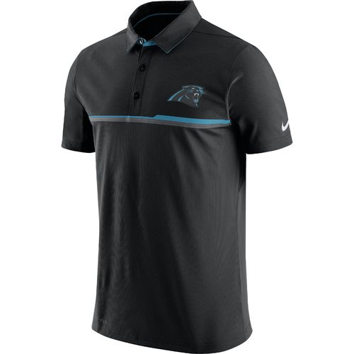 Nike Men's Carolina Panthers Sideline Elite Polo Shirt