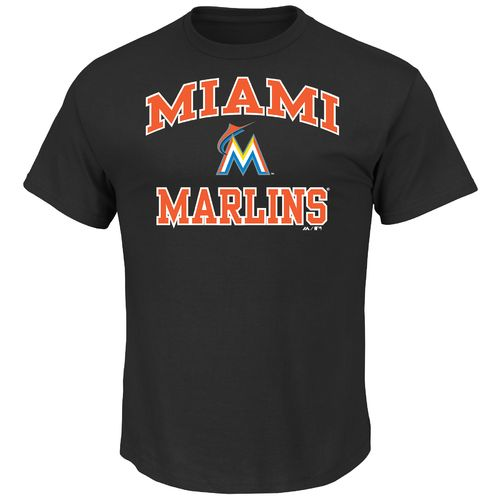 Majestic Men's Miami Marlins Heart and Soul T-shirt