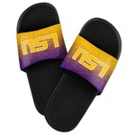 Forever Collectibles™ Men's Louisiana State University Textured Sport Slides