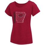 Colosseum Athletics Girls' University of Arkansas T-shirt