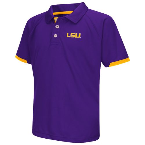 Colosseum Athletics™ Boys' Louisiana State University Spiral Polo