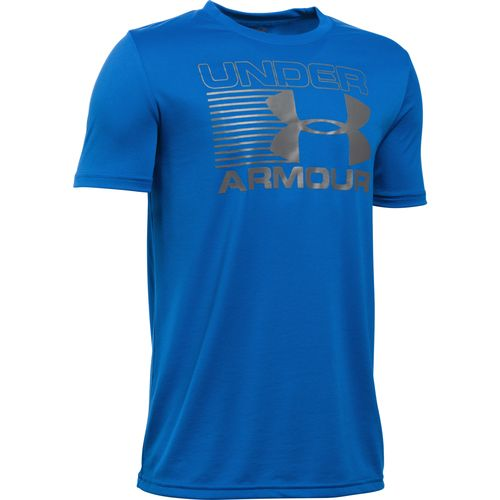 Under Armour™ Boys' Streak Logo Short Sleeve T-shirt