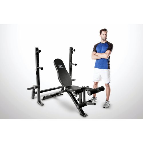 Display product reviews for Marcy Pro 2-Piece Olympic Weight Bench