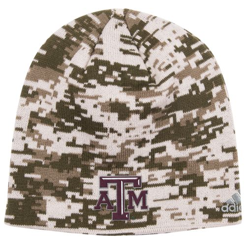 adidas™ Men's Texas A&M University Digital Camo Beanie