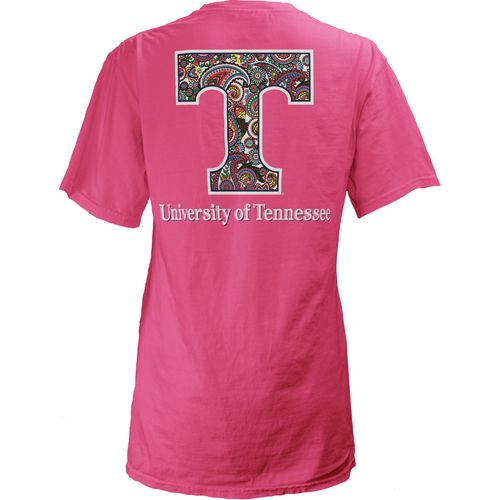 Three Squared Juniors' University of Tennessee Preppy Paisley