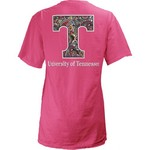 Three Squared Juniors' University of Tennessee Preppy Paisley T-shirt