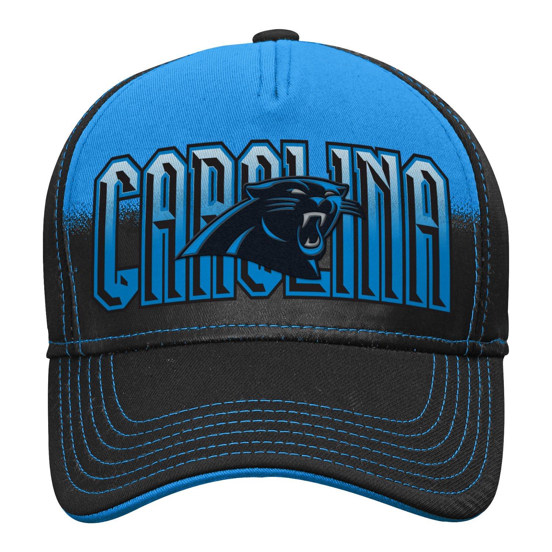 NFL Young Men's Carolina Panthers DNA Helix Flex Cap