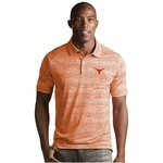 Antigua Men's University of Texas Striped Formation Polo Shirt