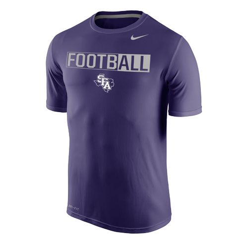 Nike™ Men's Stephen F. Austin State University Dri-FIT Legend 2.0 Short Sleeve T-shirt