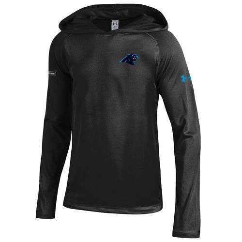 Under Armour NFL Combine Authentic Boys' Carolina Panthers Tech Hoodie