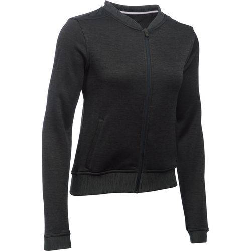 Under Armour Women's Storm SweaterFleece Full Zip Bomber Jacket