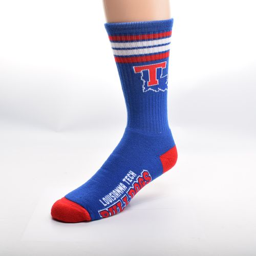 FBF Originals Men's Louisiana Tech University 4-Stripe Deuce