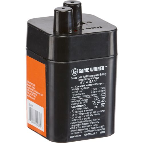 Game Winner®  6V 4.5 Ah Feeder Battery Coil - view number 2