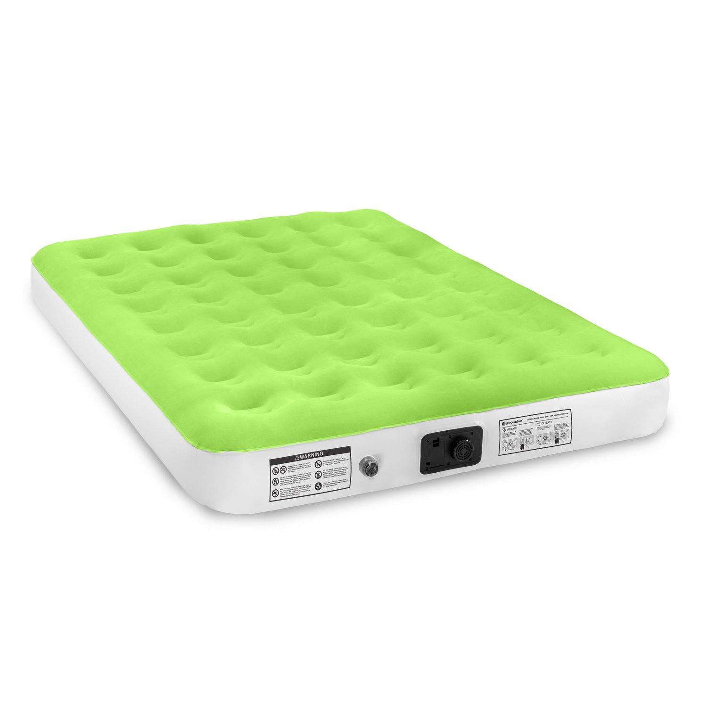 air comfort dream easy queensize air mattress with builtin electric pump