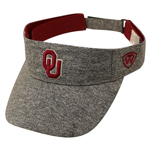 Top of the World Men's University of Oklahoma Steam Visor