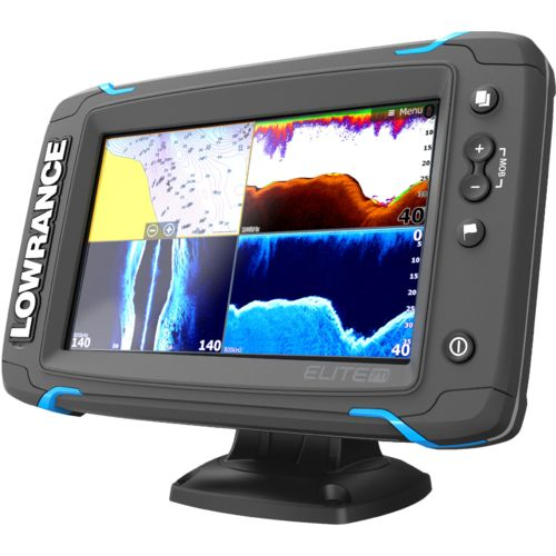 Lowrance elite 7 ti totalscan fishfinder gps combo academy for Academy fish finder
