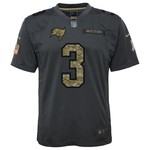 Nike Boys' Tampa Bay Buccaneers Jameis Winston Salute to Service Replica Jersey - view number 2